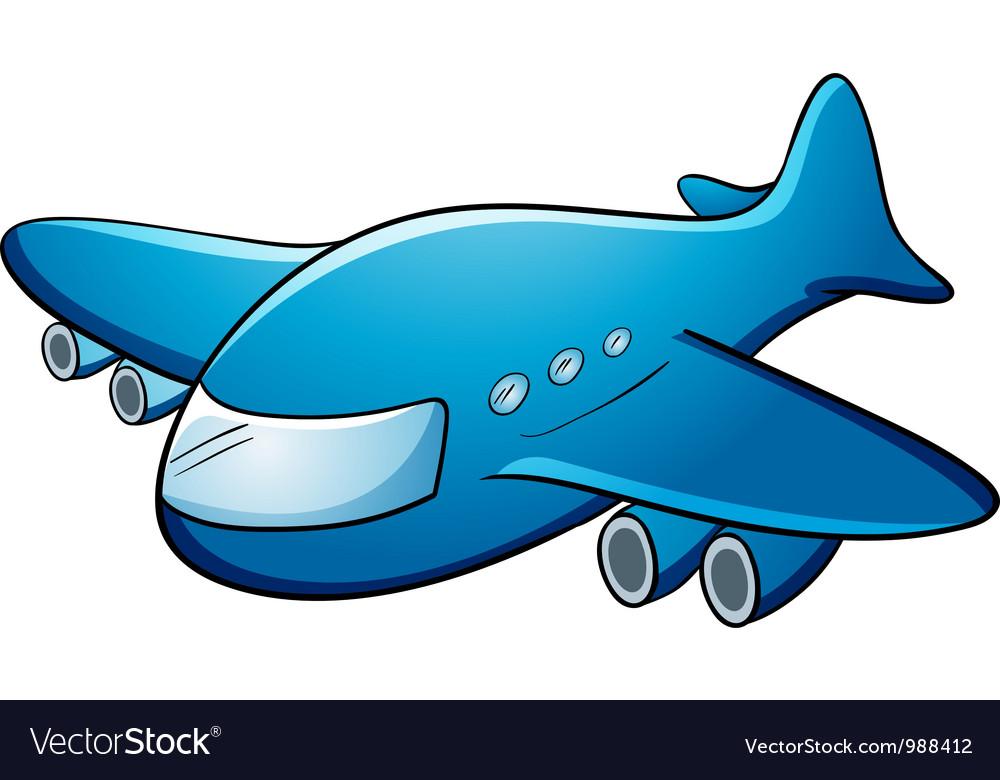Jumbo jet vector image