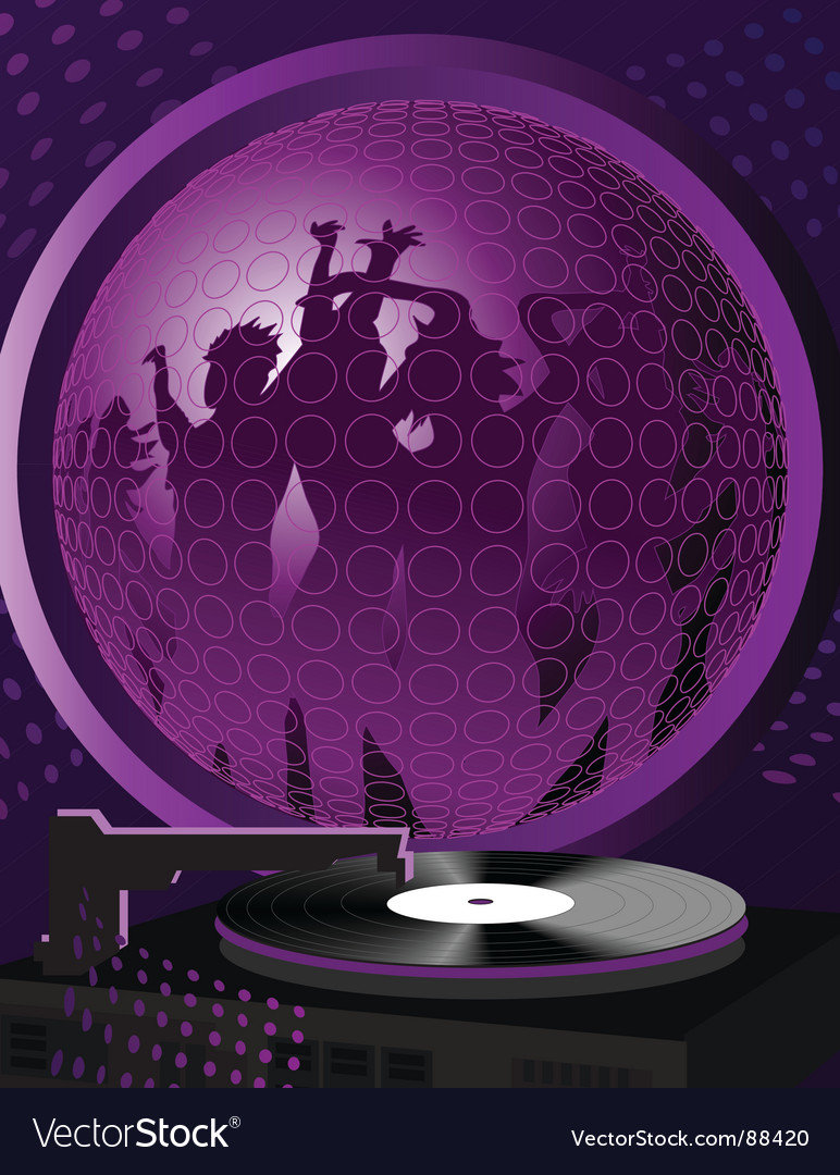 People dance vector image