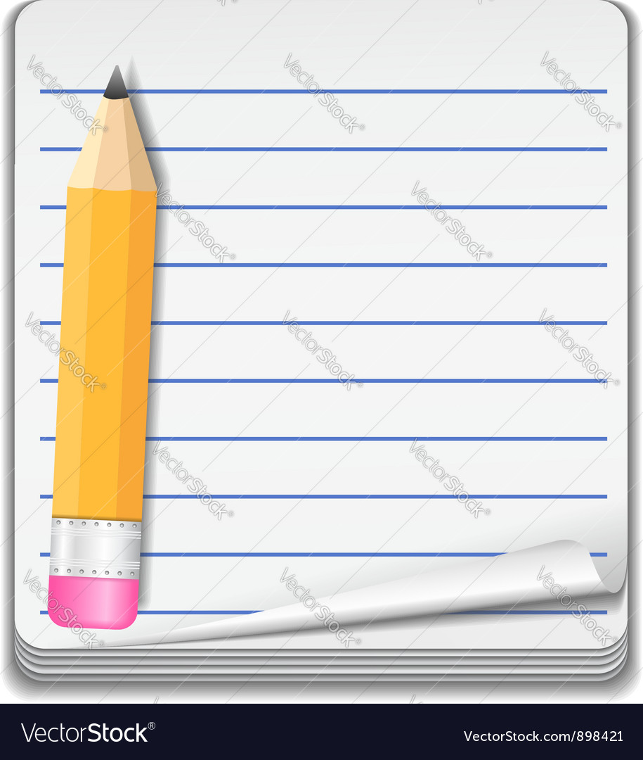 Notebook Icon vector image