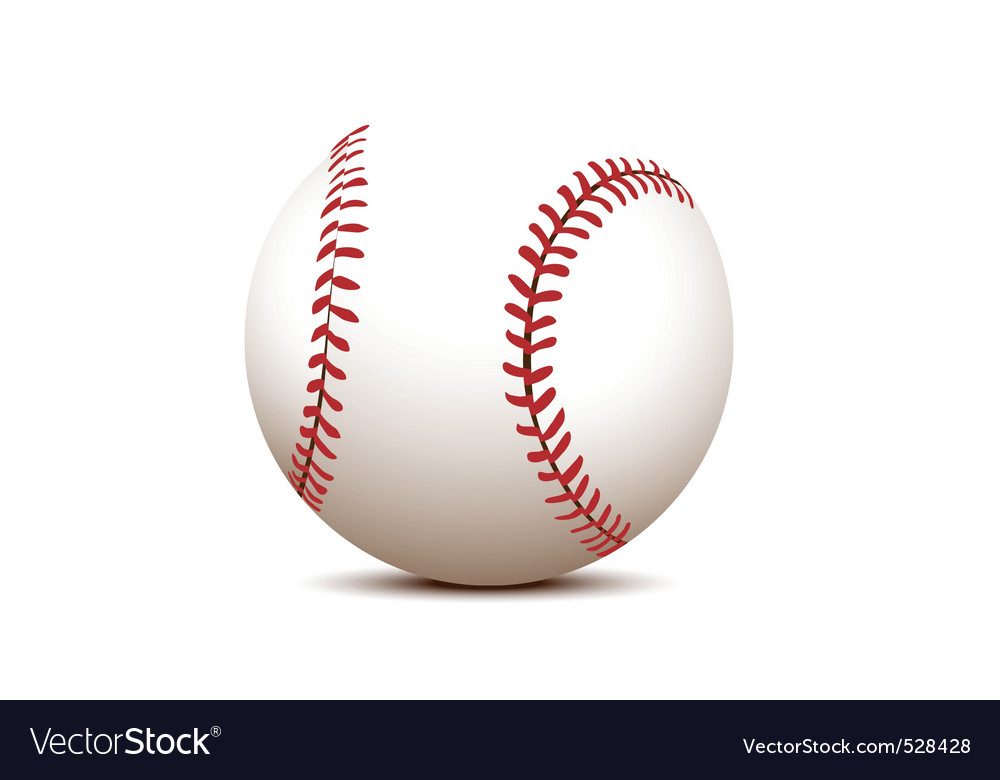 Basball ball vector image