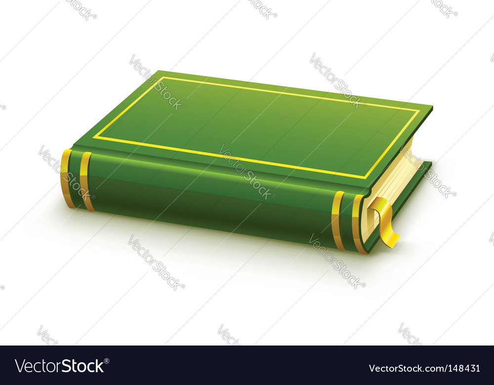 Blank cover vector image