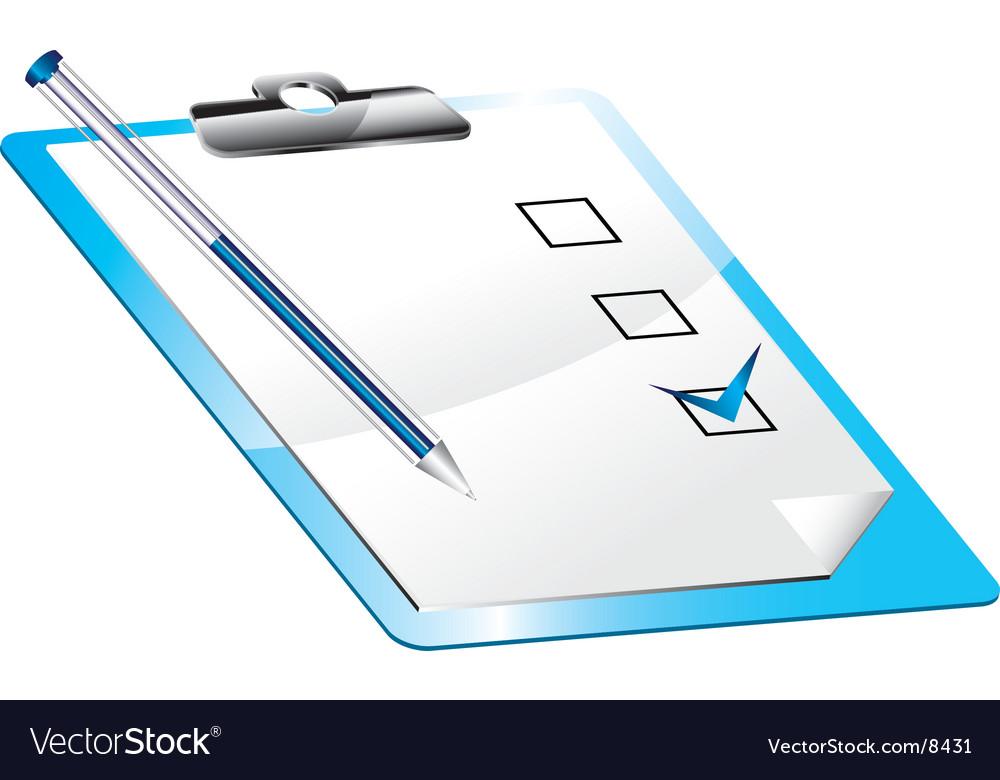 Icon pencil vector image