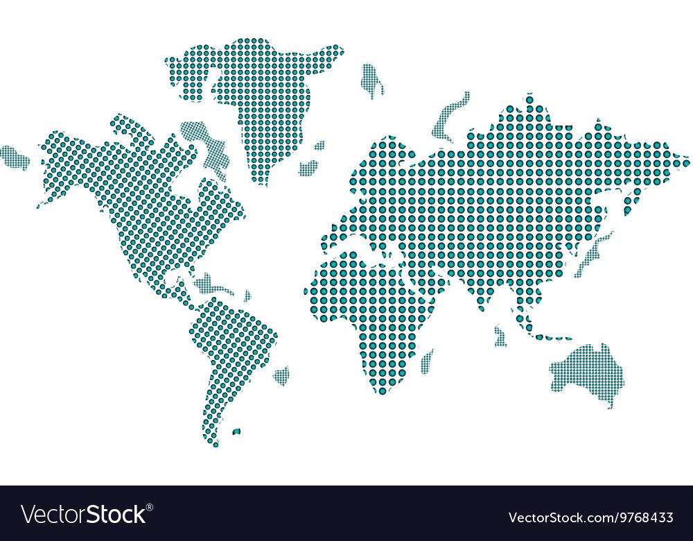 Geometric texture world map icon royalty free vector image geometric texture world map icon vector image gumiabroncs Choice Image