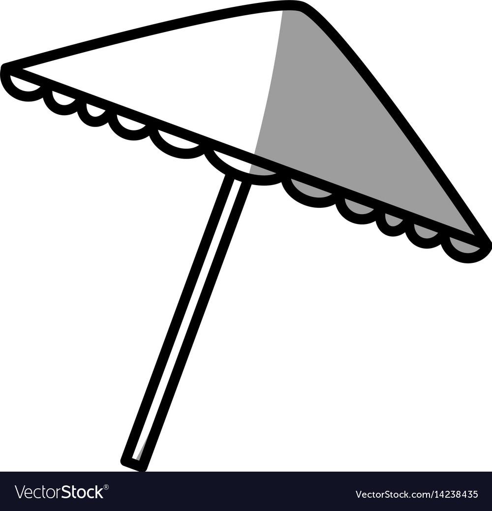 Umbrella protection picnic shadow royalty free vector image umbrella protection picnic shadow vector image biocorpaavc