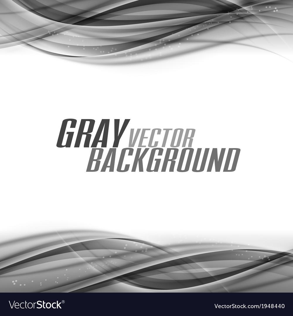 Abstract gray white center vector image