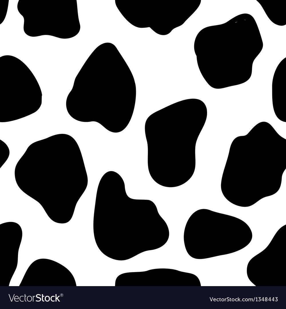Cow Print vector image