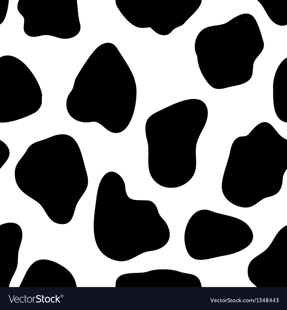 Cow Print vector image