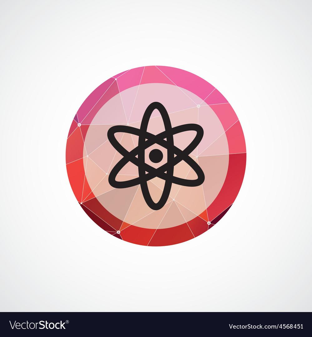Atom circle pink triangle background icon vector image atom circle pink triangle background icon vector image buycottarizona