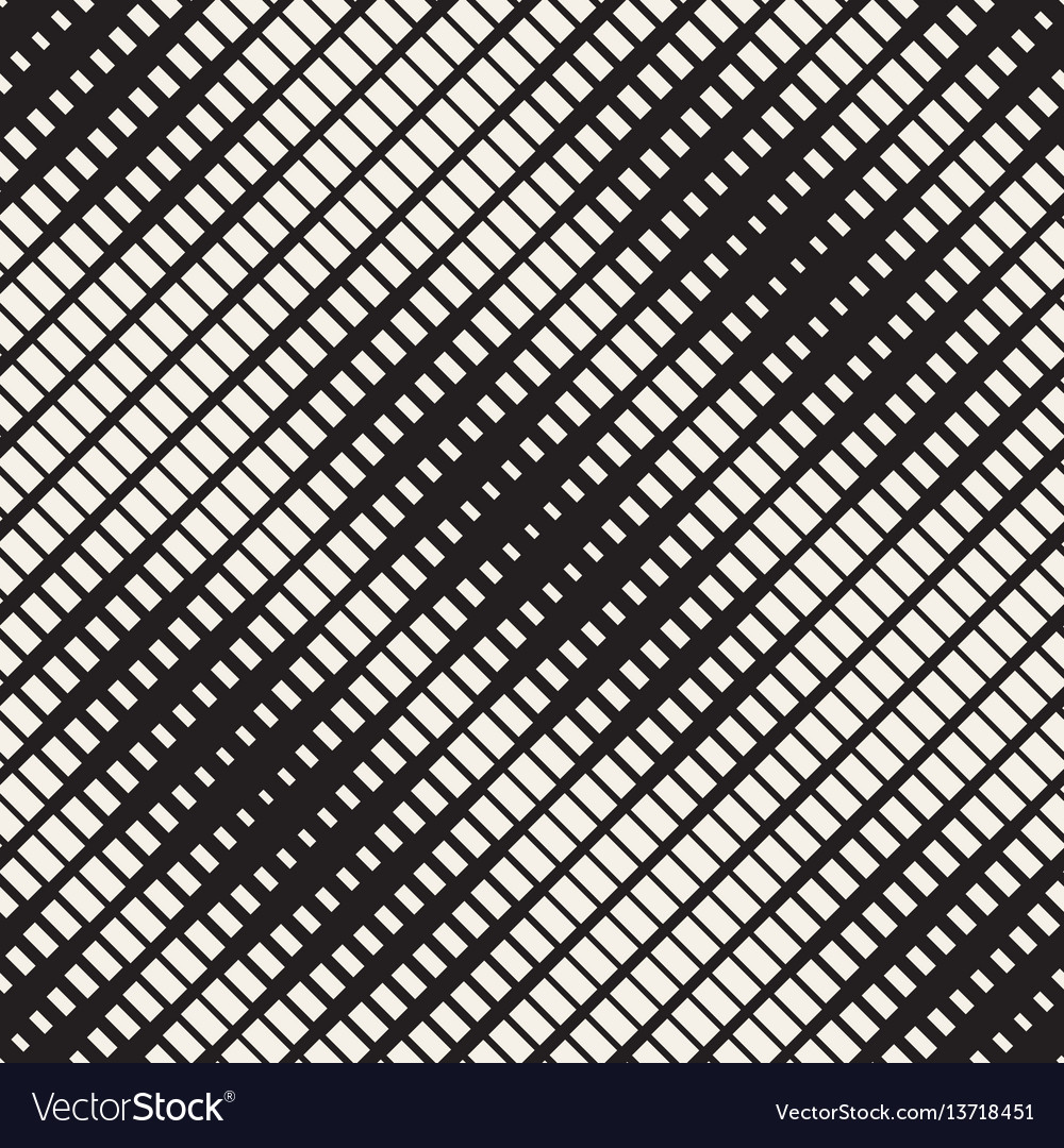 Repeating rectangle shape halftone modern vector image