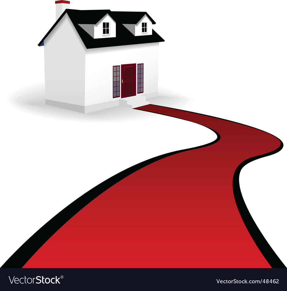 New home vector image