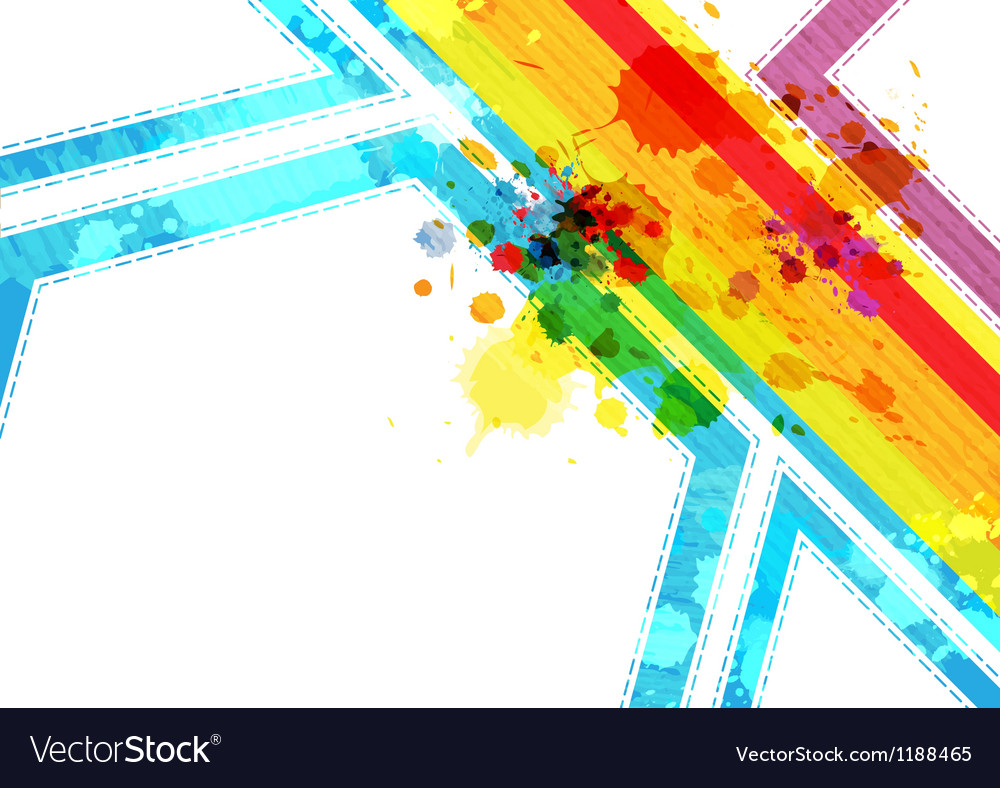 Art abstract layout background design vector image