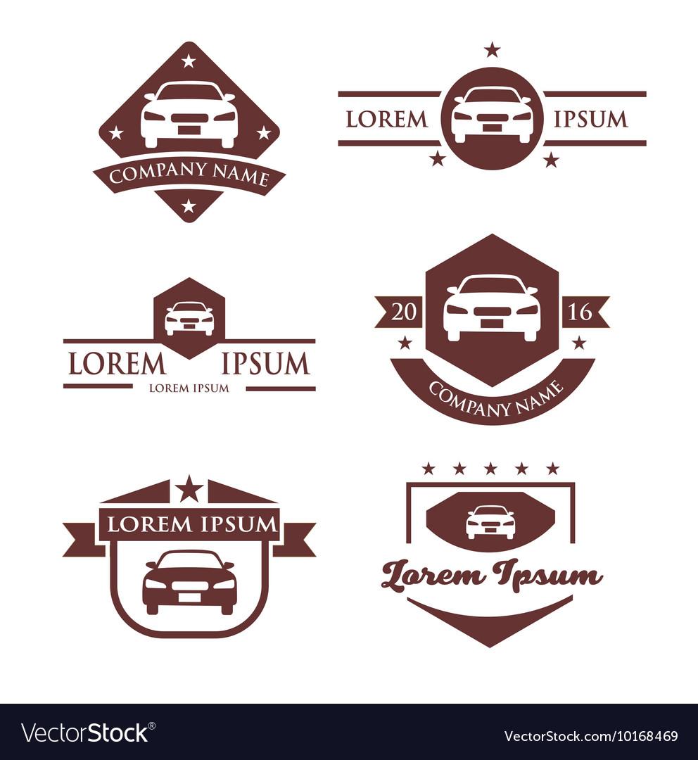 Automobile Business Logo vector image