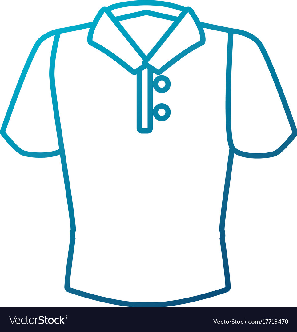 man polo shirt royalty free vector image vectorstock rh vectorstock com polo shirt vector free download polo shirt vector ai