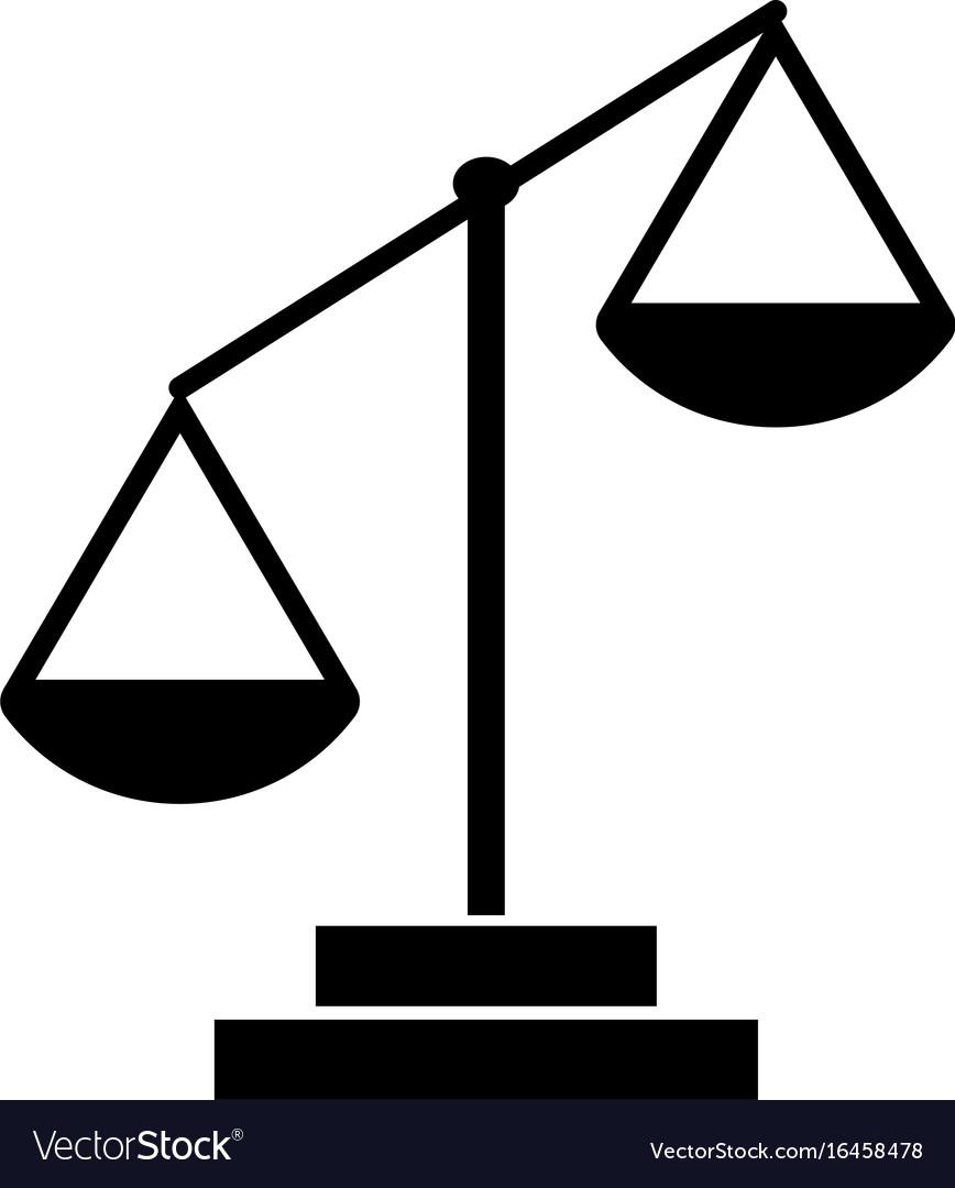 law scale royalty free vector image - vectorstock
