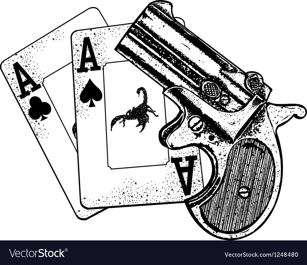 Pair of aces vector image