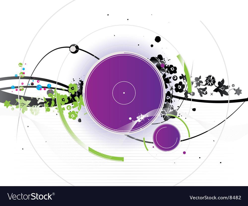 Water wallpaper vector image