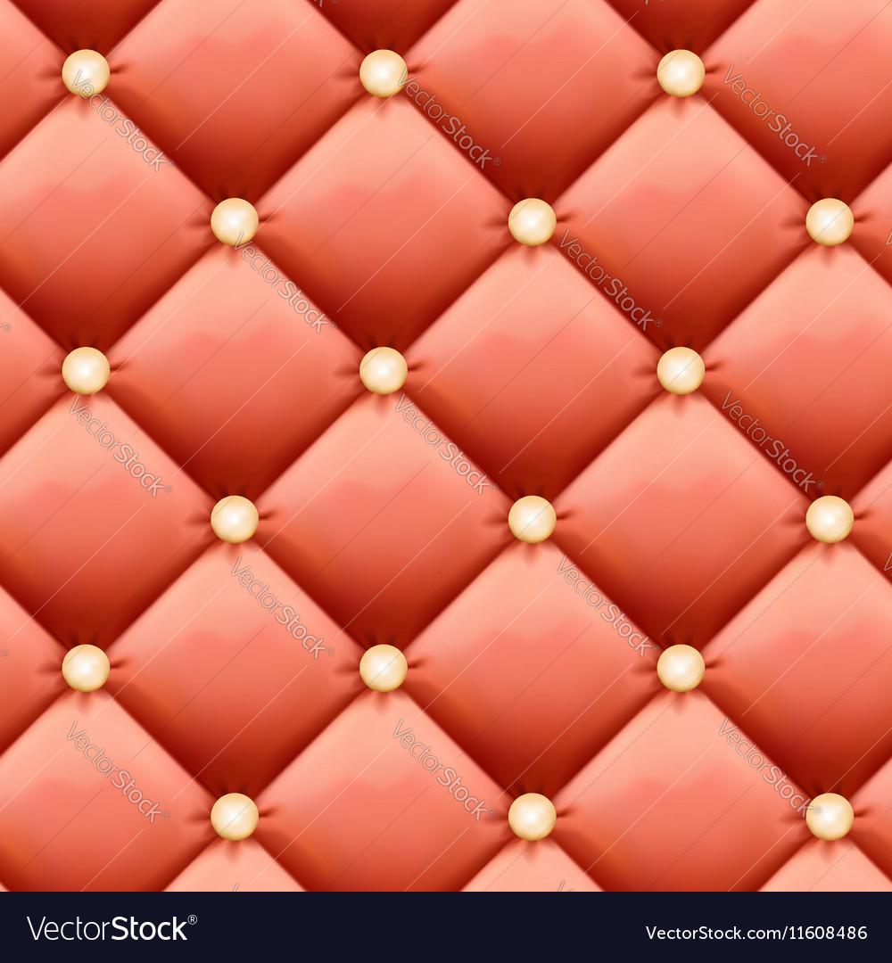 Salmon-colored Retro luxury background - Leather vector image