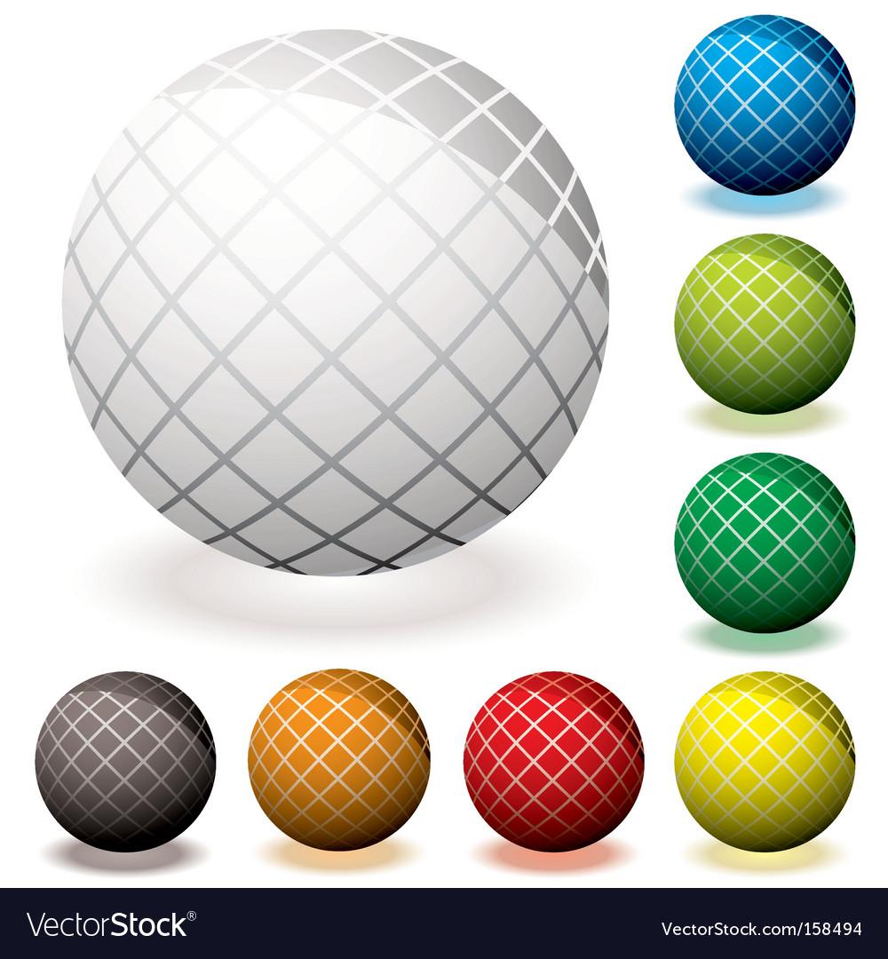 Web icon hash vector image