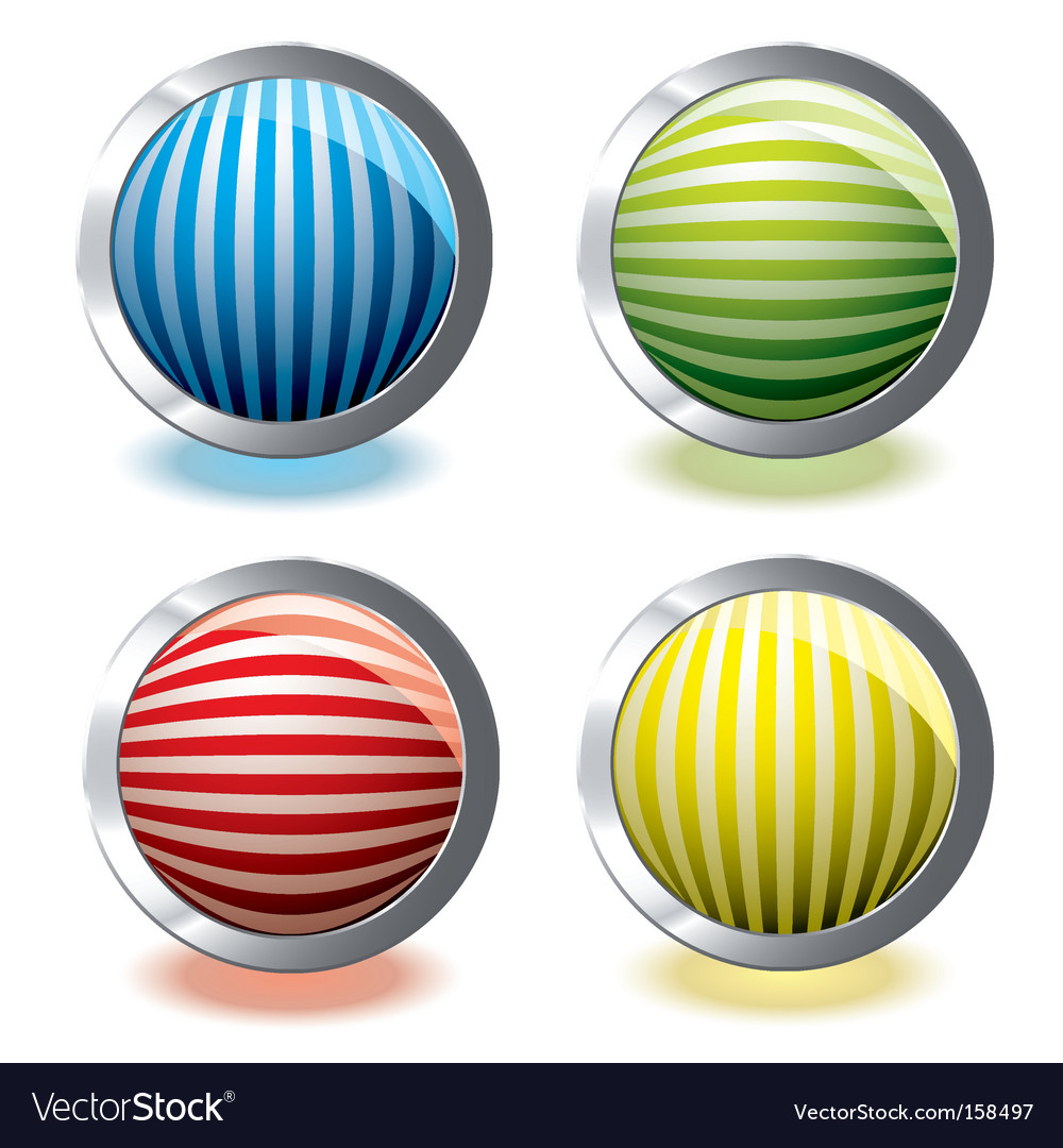 Web icon stripe vector image
