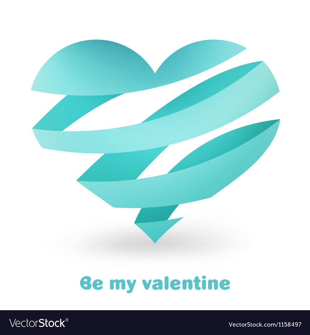 Valentines day card EPS8 vector image