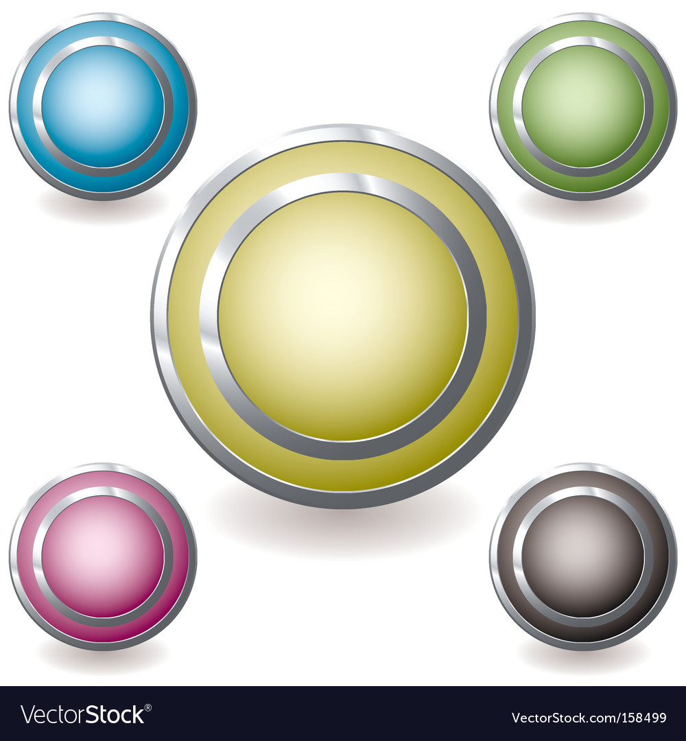 Web icon variation glow vector image