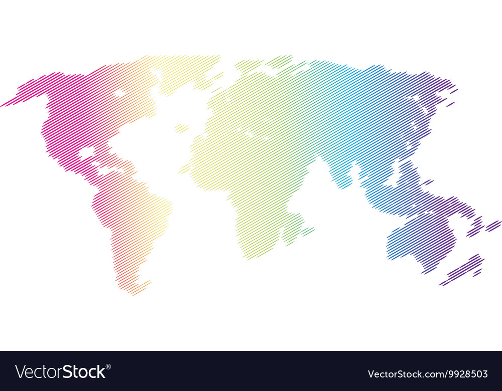 Halftone world map continents for your royalty free vector halftone world map continents for your vector image gumiabroncs Images