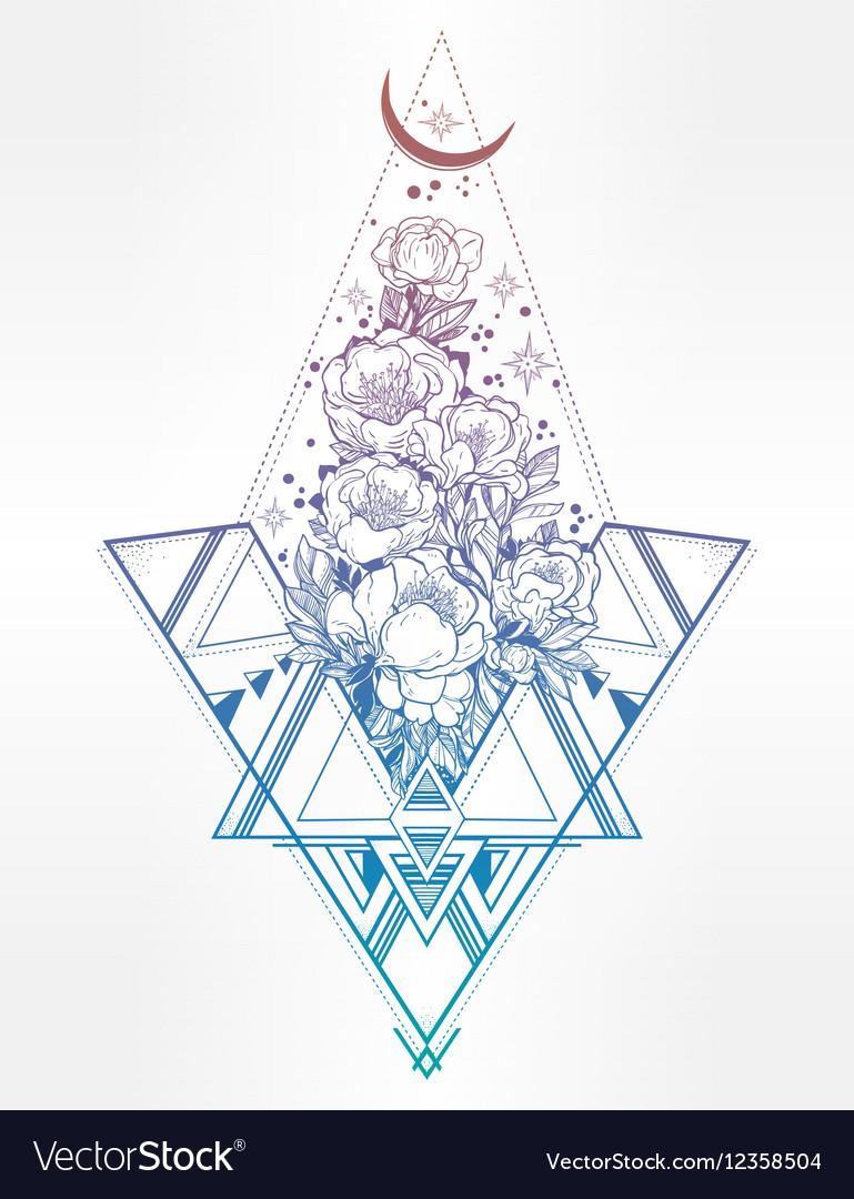 sacred geometry vector