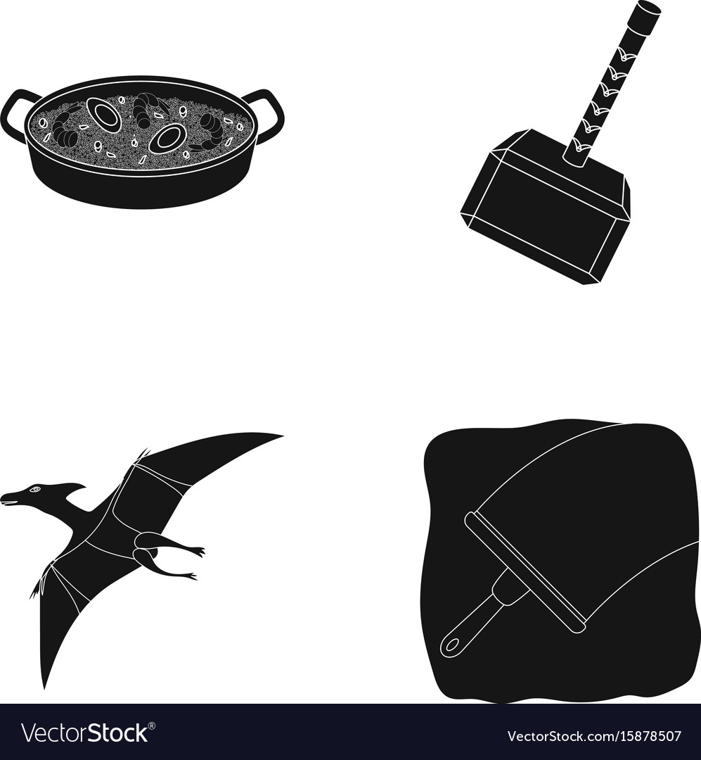 Cleaning travel and or web icon in black style vector image