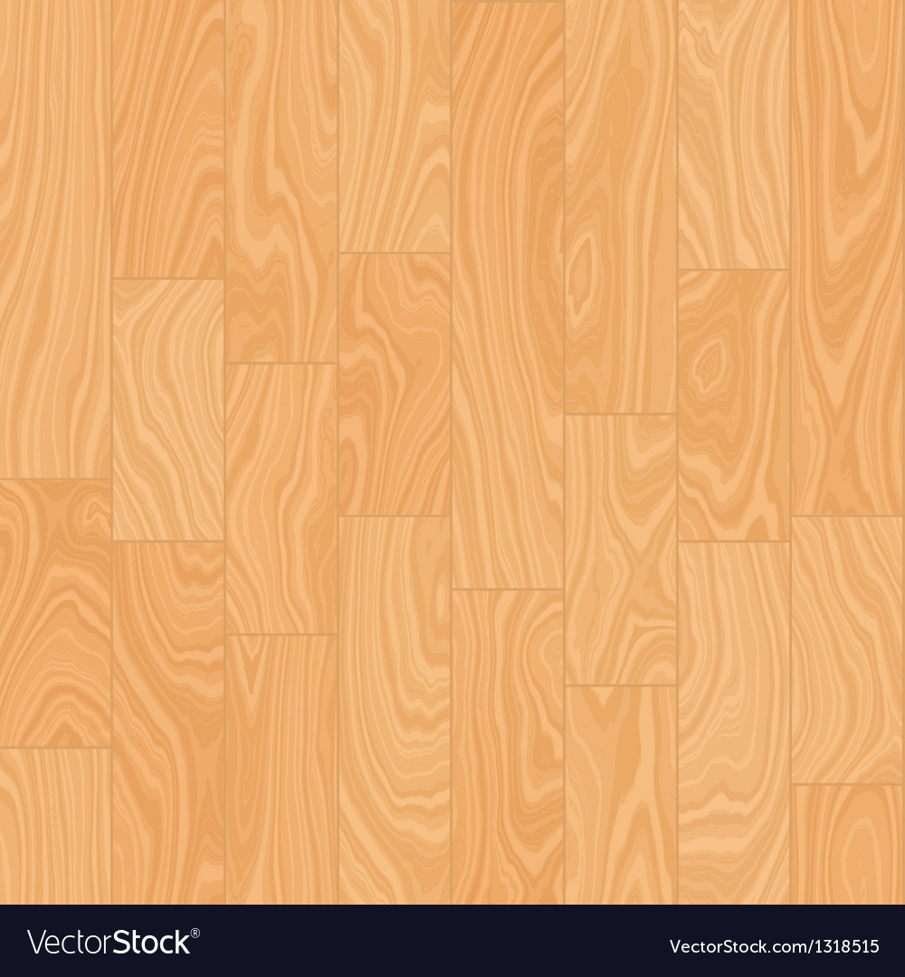 Seamless hardwood floor vector image