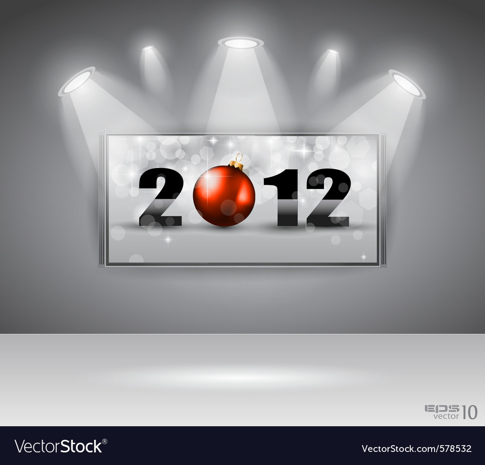 2012 gallery vector image