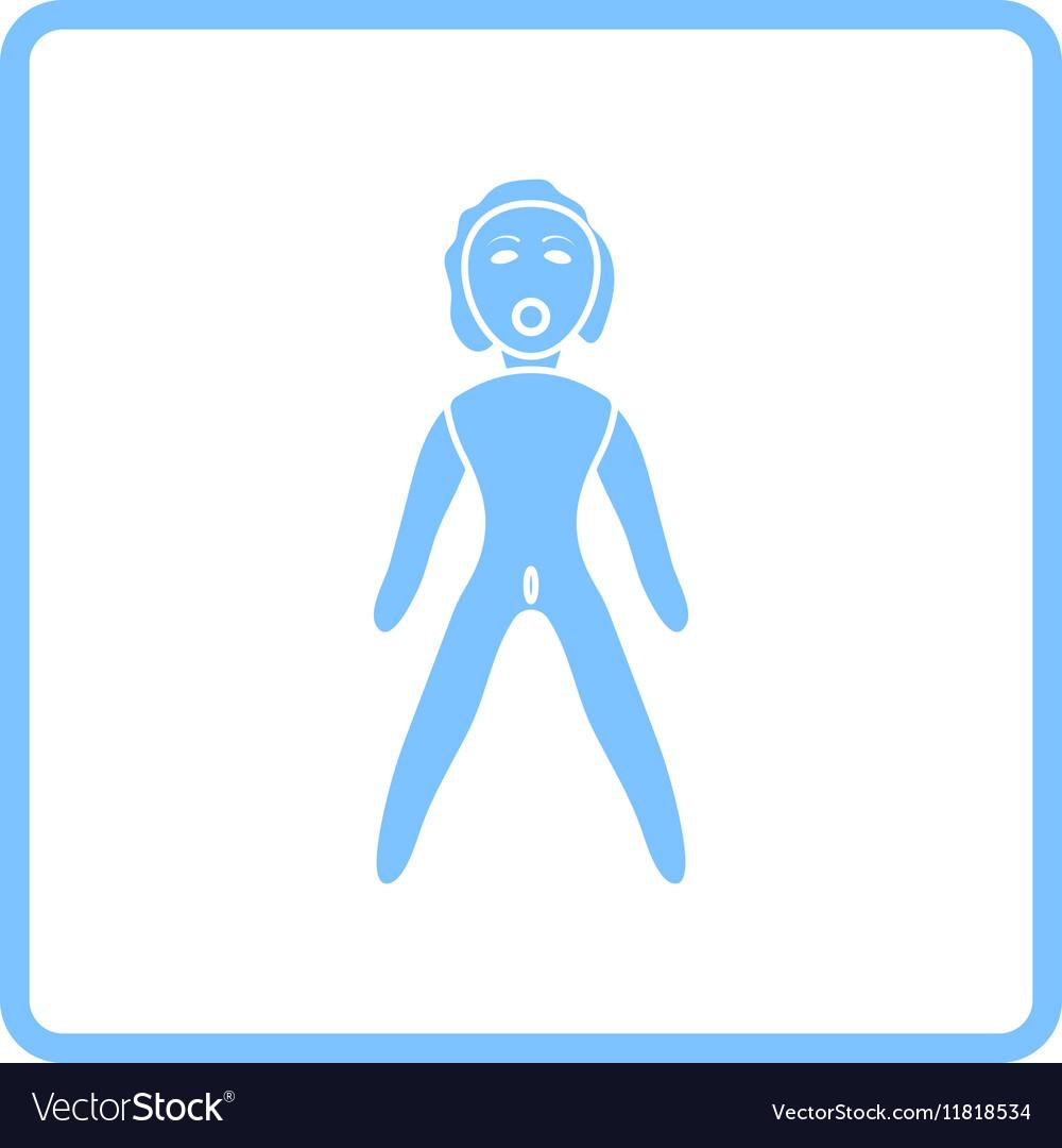 Sex dummy icon vector image
