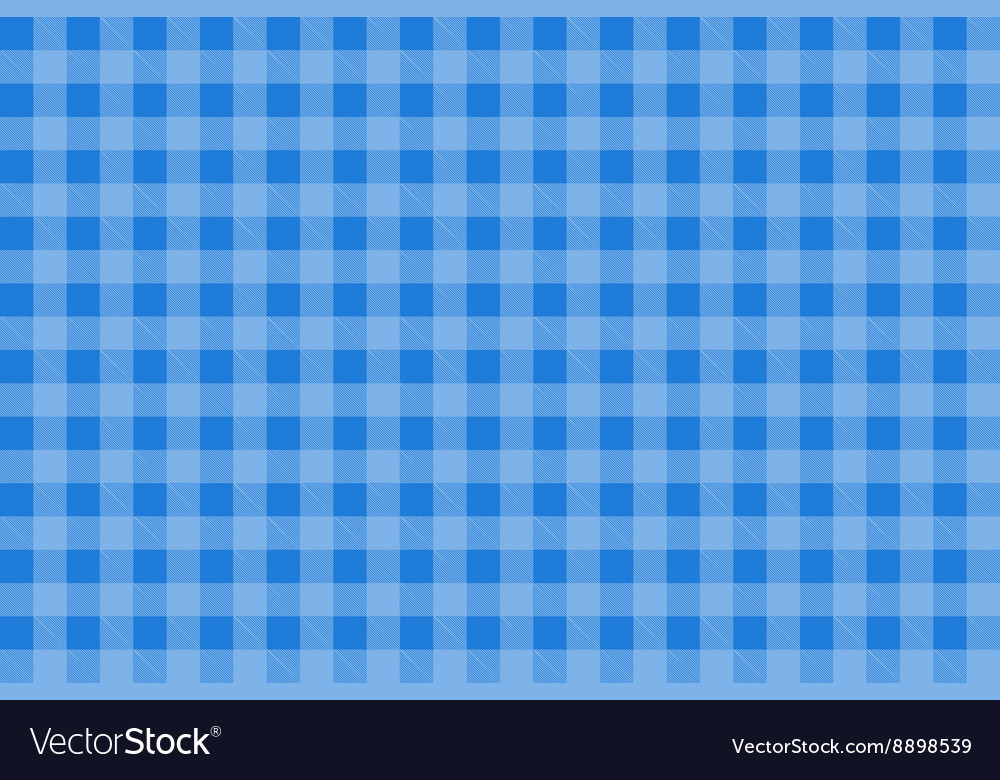 Blue Tartan Plaid Seamless vector image