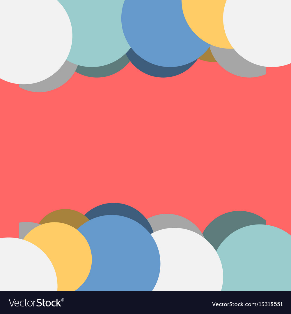 Adstract colorful corporatedesign vector image
