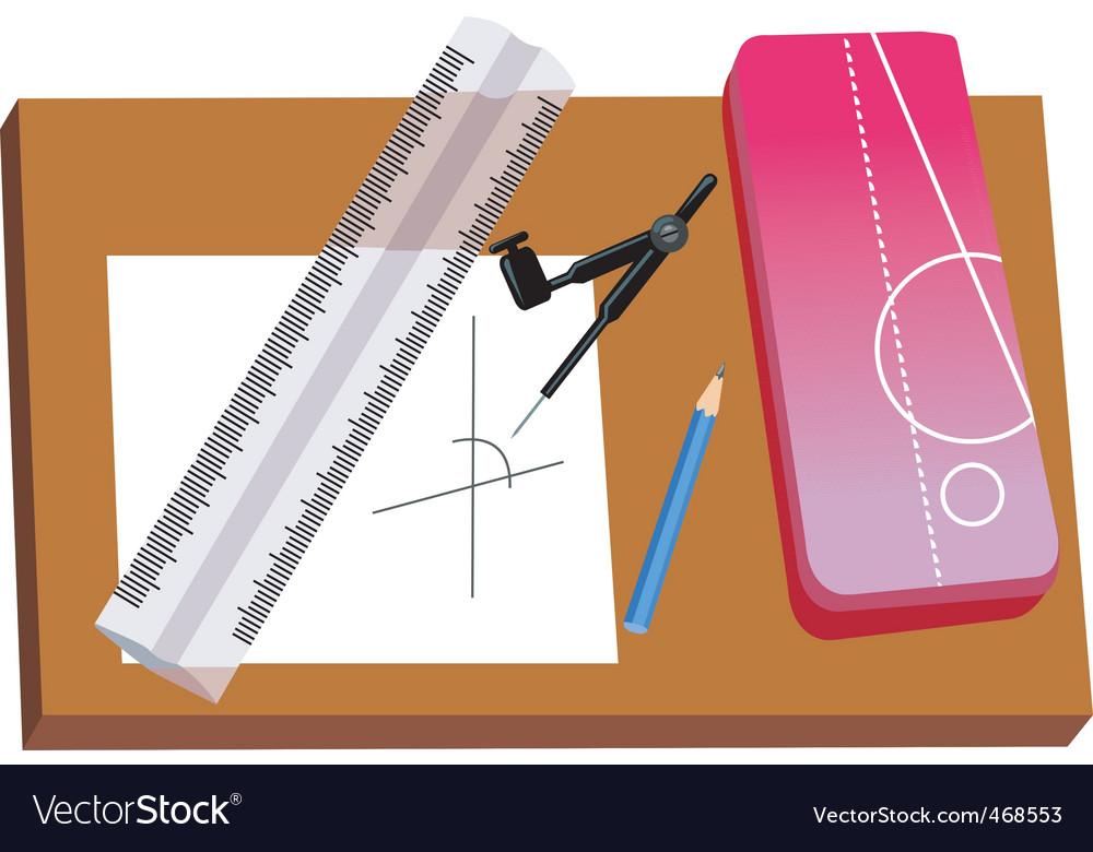 Instruments vector image