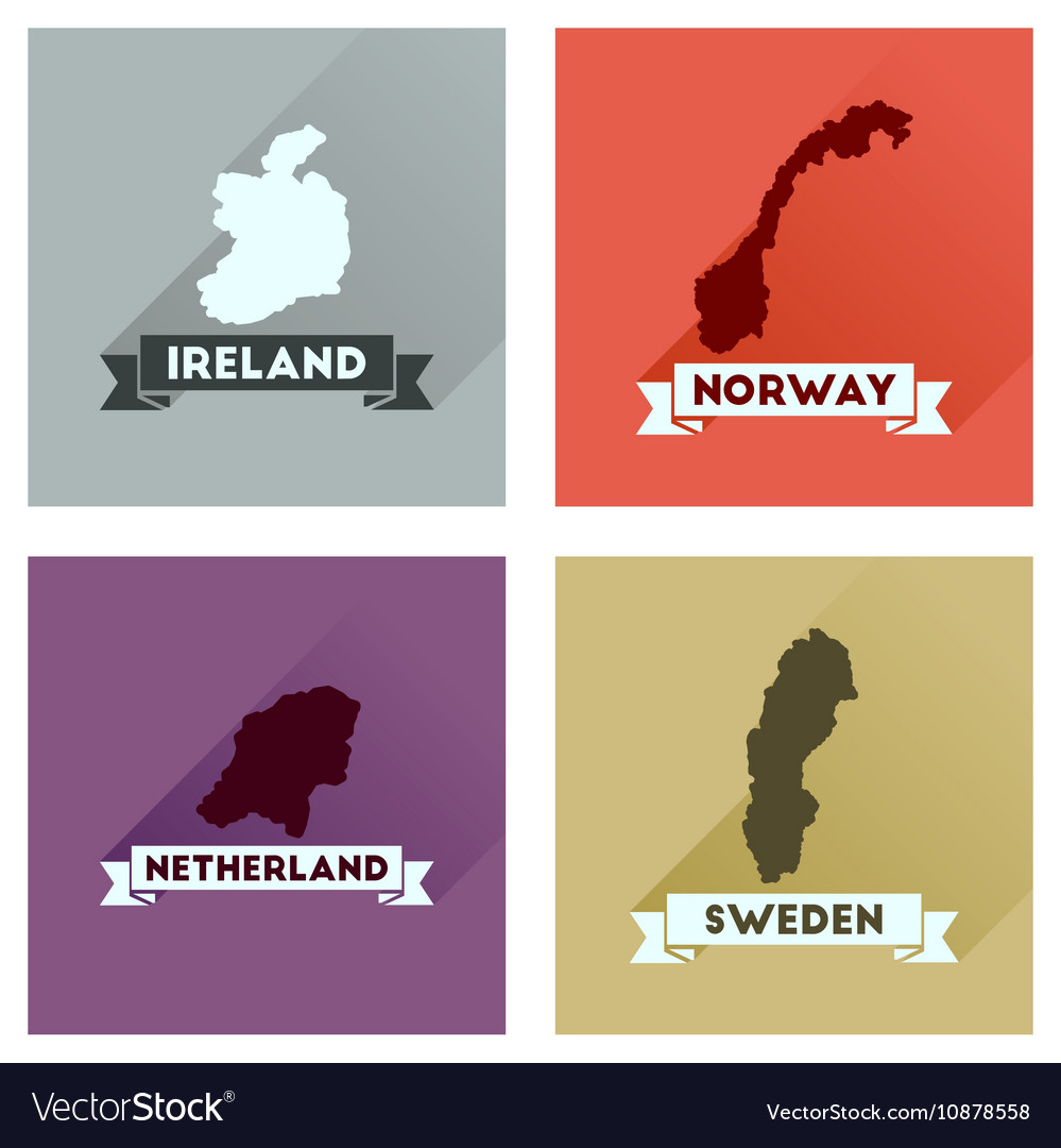 Country city vectors free vector graphics everypixel white world map with shadows concept flat icons gumiabroncs Images