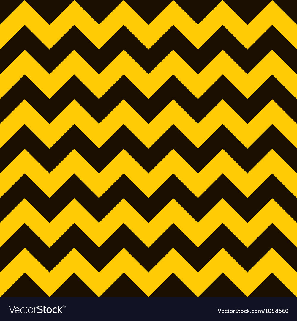 Warning chevron vector image