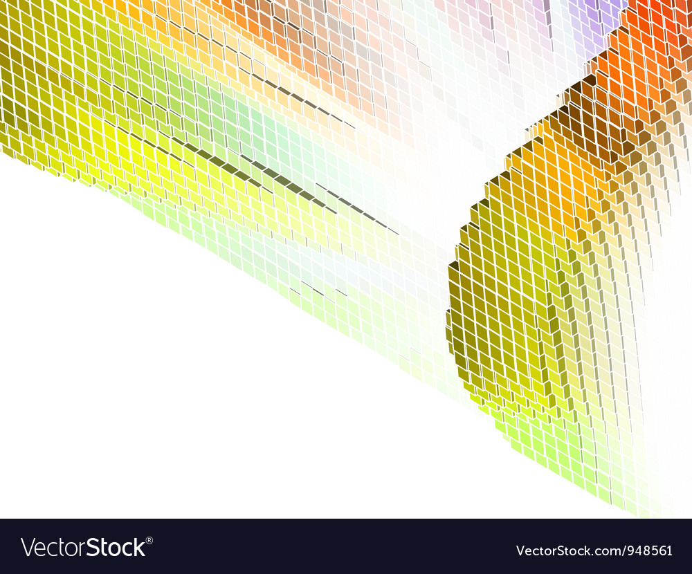 Abstract Cubes Background vector image