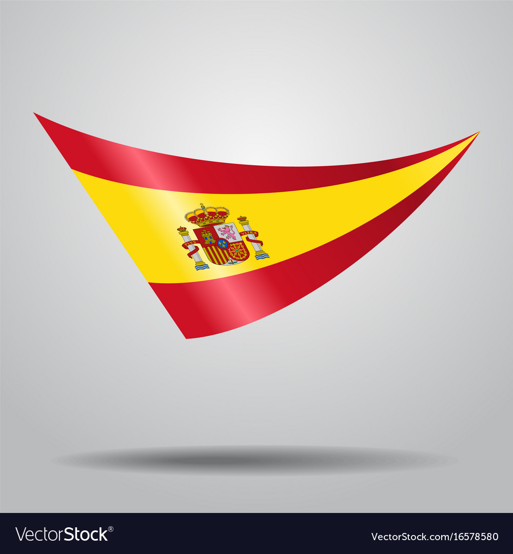 Spanish flag background royalty free vector image spanish flag background vector image voltagebd Gallery