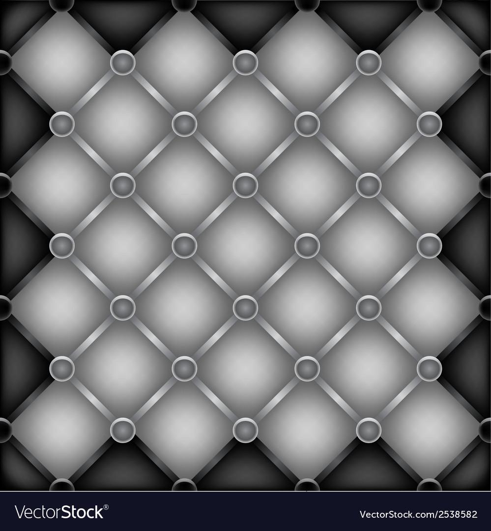 Metal furniture texture vector image