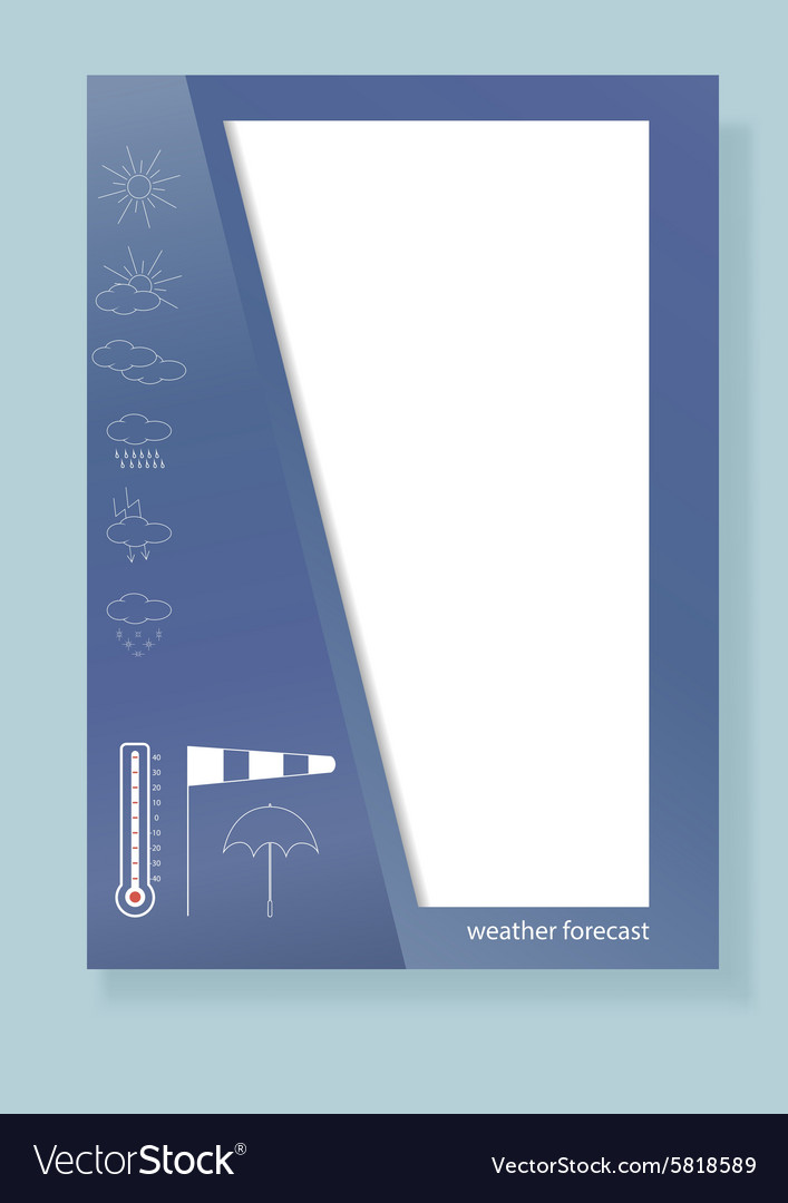 Design of a template for the booklet brochures vector image