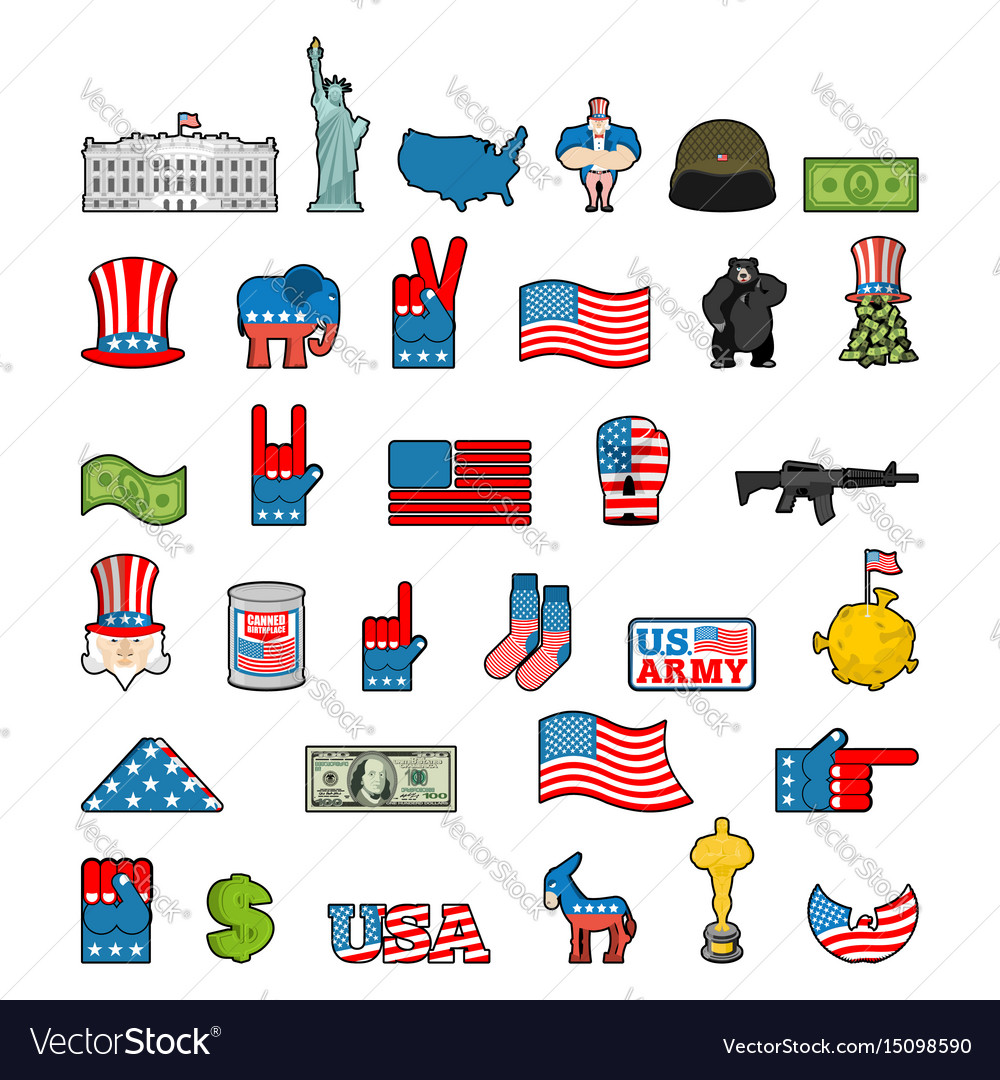 the symbols of america Intermediate level american symbols and celebrations lesson plan h wwwuscisgov/citizenship 1 lesson plan american symbols and celebrations.