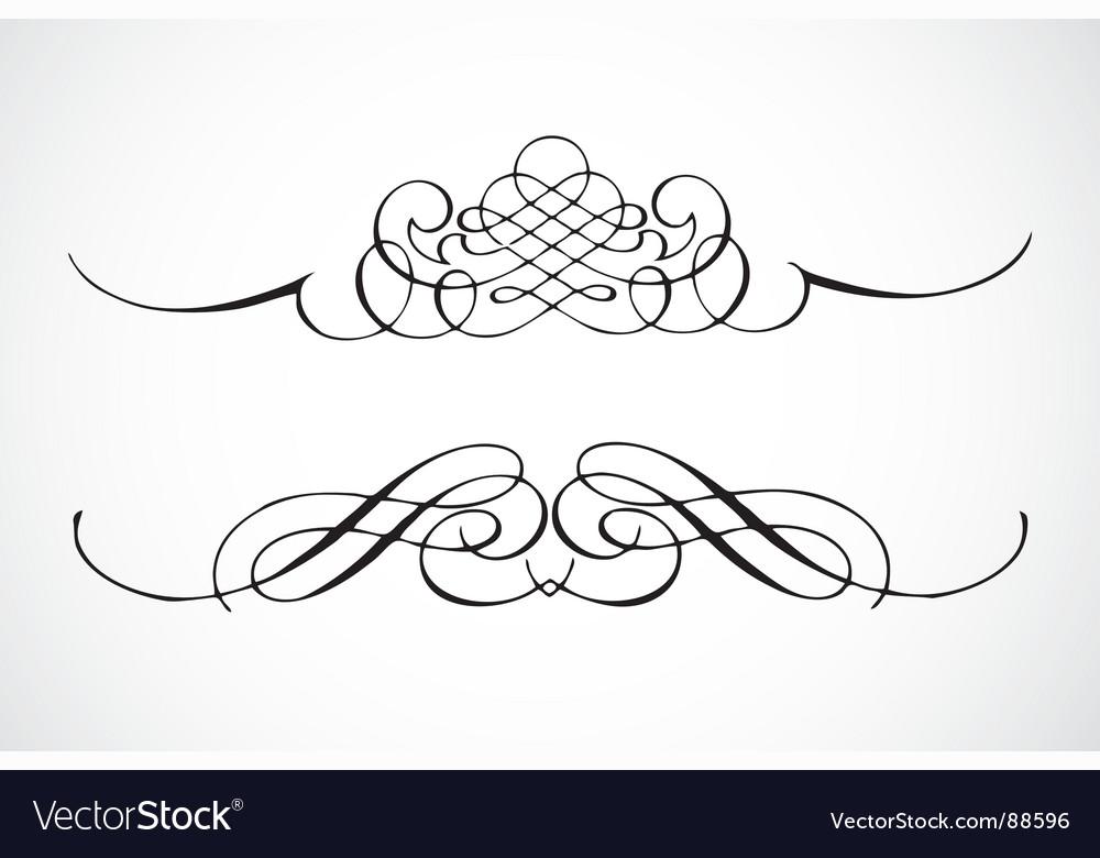 Ornamental vector image
