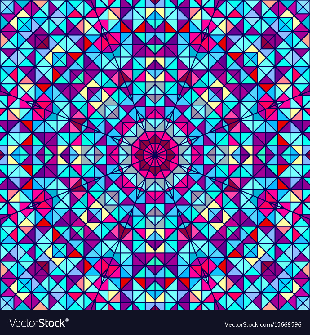 Abstract colorful digital decorative backdrop vector image
