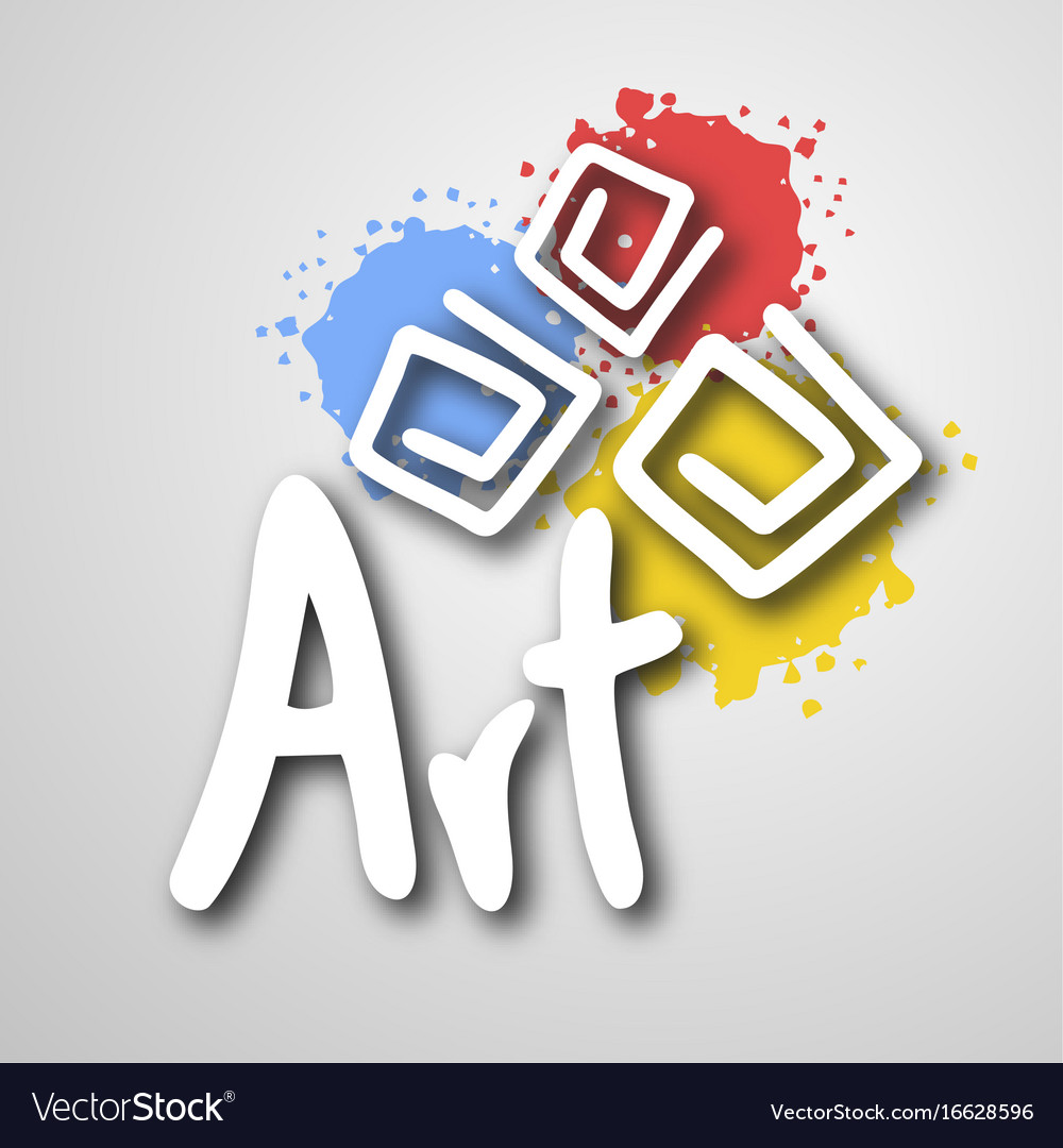 Art color vector image
