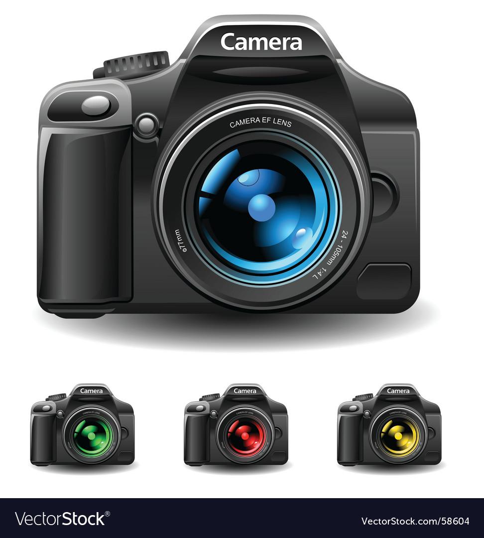 Photo and camera vector image