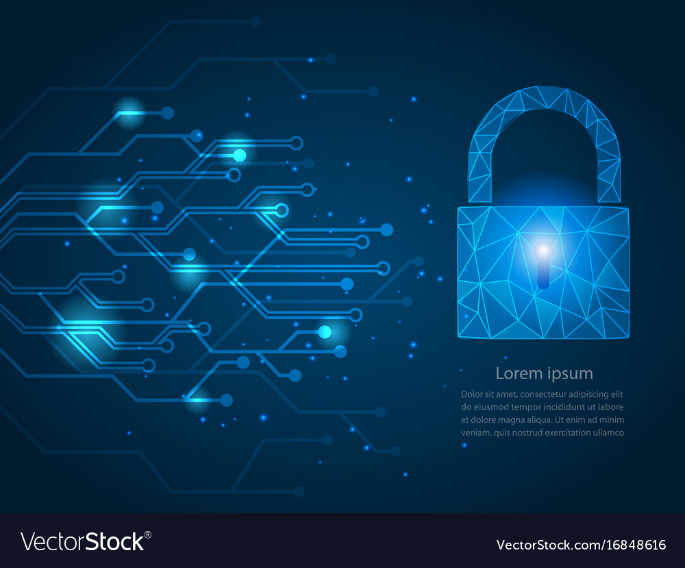 Safety network security concept vector image
