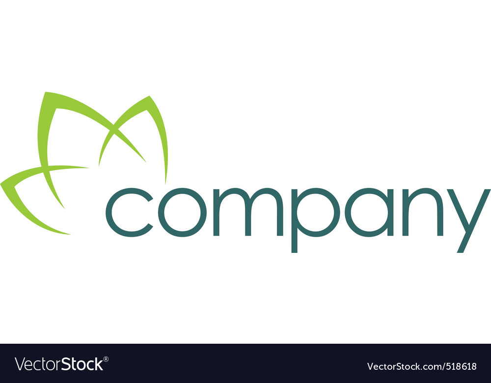 Natural care logo healthy vector image