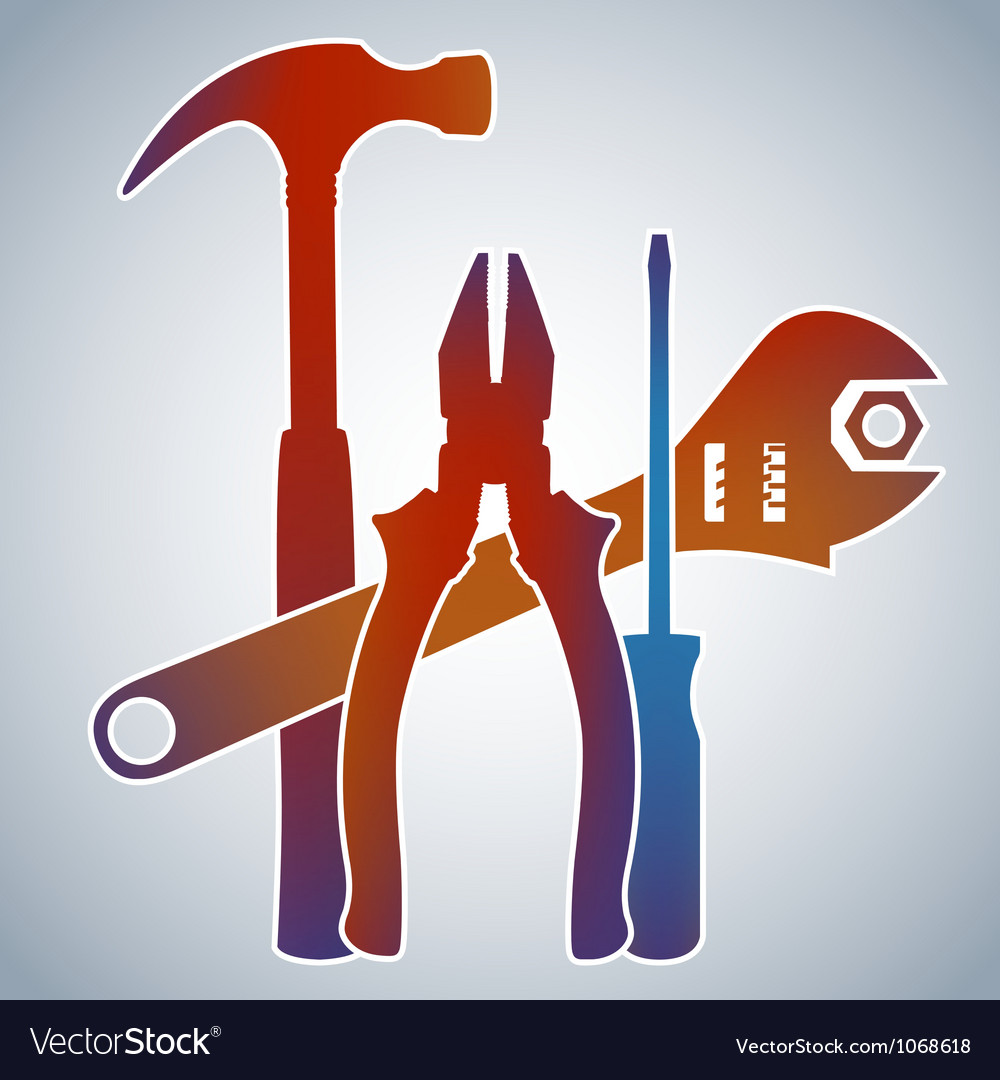 Tools Collection vector image