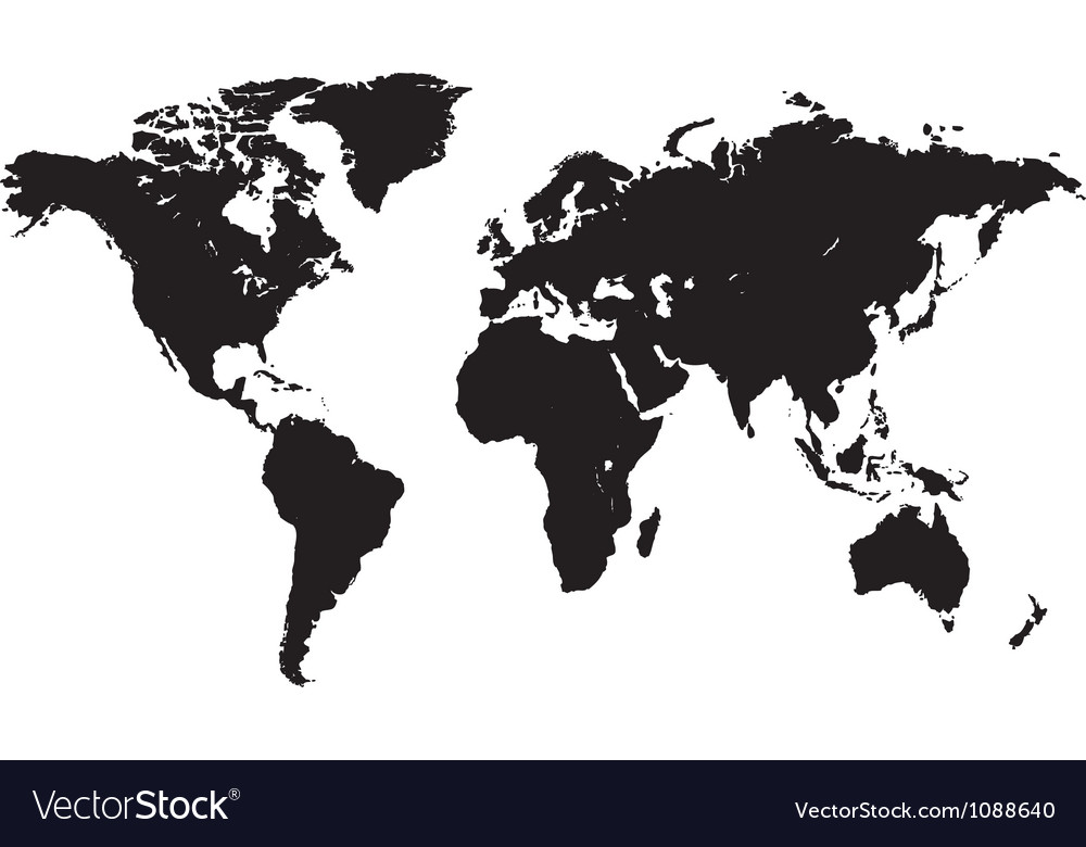 Abstract world Vector Image