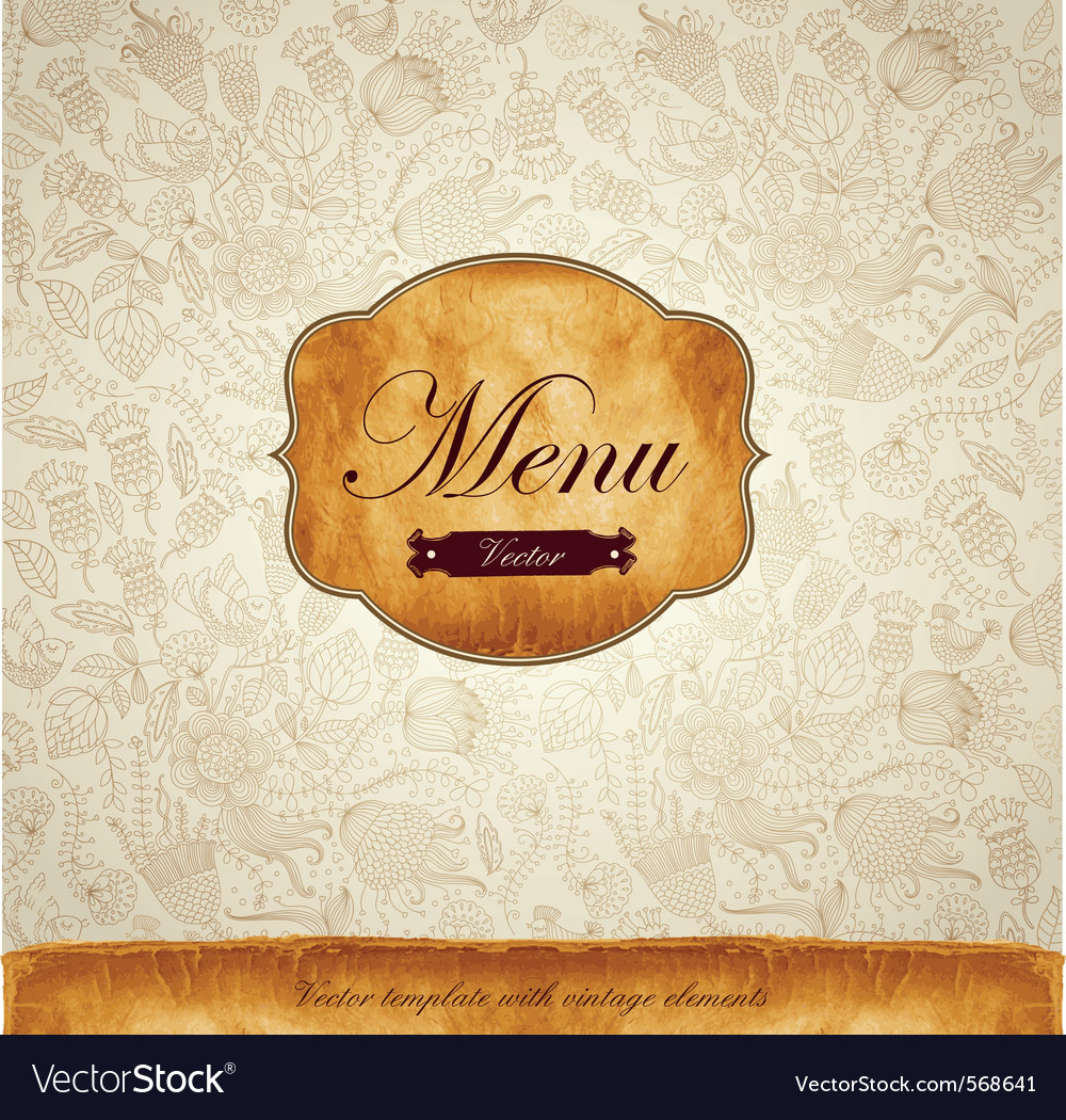Classical background Vector Image